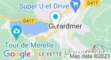 Plan Carte Spa Beau Rivage à Gérardmer