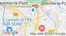 Plan Carte Zen&Ô à Maisons-Alfort