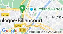 Plan Carte Hammam Charlotte Beauté à Paris (16ème)
