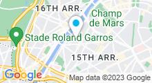 Plan Carte Spa du Platine Hôtel**** à Paris (15ème)