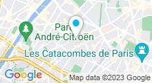 Plan Carte Hammam Comptoir Zen Spa à Paris (15ème)
