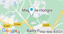 Plan Carte Spa du Radisson Blu Hôtel**** à Magny-Le-Hongre