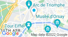 Plan Carte Spa Cercle Delacre à Paris (8ème)
