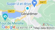 """Plan Carte Spa """"Les Chênes Blancs"""" à Gérardmer"""