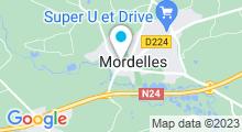 Plan Carte Centre aquabike et Institut Escale Beauté à Rennes Mordelles