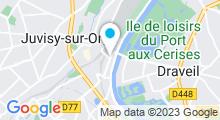 Plan Carte Sabaï Thaï Spa à Juvisy sur Orge
