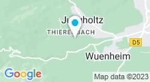 """Plan Carte Spa """"Les Violettes"""" à Jungholtz"""