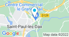 Plan Carte Hammam Kafané à Saint-Paul-lès-Dax