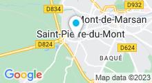 Plan Carte Hammam Les Bains d'Orientalys à Saint-Pierre-du-Mont