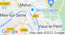 Plan Carte Au Lagon Spa à Melun