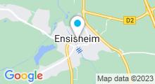 Plan Carte Spa du Domaine du Moulin*** à Ensisheim