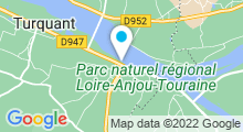 Plan Carte Spa Le Sent Bon de l'Hôtel La Marine de Loire**** à Montsoreau