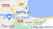 Plan Carte Centre de bronzage et aquabike Absolut Sun à Martigues