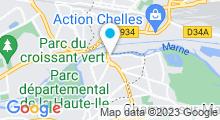 Plan Carte Algues Marine à Gournay-sur-Marne