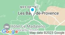 Plan Carte Spa Baumanière aux Baux de Provence