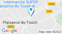 Plan Carte O'Naïade Spa à Plaisance du Touch