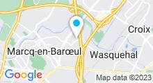 Plan Carte Les Bains de Grace à Marcq en Baroeul