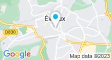 Plan Carte Spa Erawan à Evreux