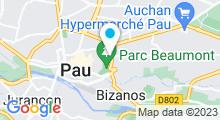 Plan Carte Spa Terra Nostra à Pau
