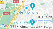 Plan Carte Hammam La Sultane de Saba à Paris (16ème)