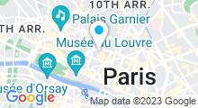 Plan Carte Hammam La Sultane de Saba à Paris (2ème)