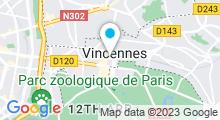 Plan Carte Hammam La Sultane de Saba à Vincennes