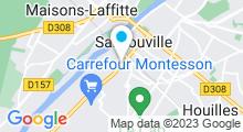 Plan Carte Centre Waterbike à Sartrouville