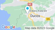 Plan Carte Centre Waterbike à Ducos
