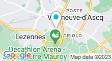 Plan Carte Centre aquabike StudioBike à Villeneuve d'Ascq