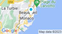 Plan Carte Thermes marins Monte-Carlo à Monaco