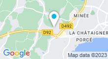 Plan Carte Salle de sport avec piscine Sport Club Océanis à Saint-Nazaire