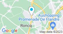 """Plan Carte Centre aquabike """"Instant pour Vous"""" à Roncq"""
