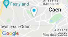Plan Carte Spa de La maison Ivan Vautier***** à Caen