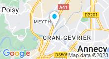 Plan Carte Centre aquabike So-Forme à Meythet