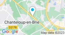 Plan Carte Club Belinann à Chanteloup en Brie