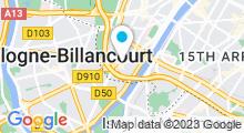 Plan Carte Centre aquabike Beauty Bike & Form à Paris (16ème)