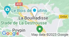 Plan Carte Spa l'Atelier des Anges - Institut à La Bouilladisse