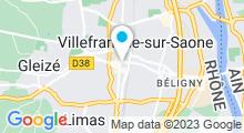 Plan Carte Spa C Naturel à Villefranche-sur-Saône