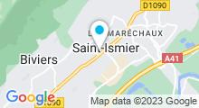 Plan Carte Millésime Spa à Saint-Ismier