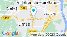 Plan Carte Spa Espace d'O à Limas - Villefranche sur Saône