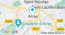Plan Carte Spa et centre aquabike Chrys Beauté à Arras
