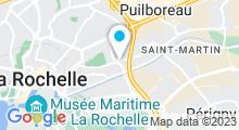Plan Carte Swimcenter à La Rochelle