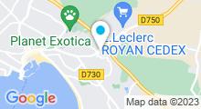 Plan Carte Swimcenter à Royan