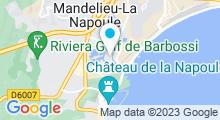 Plan Carte Spa de la Résidence Pierre & Vacances à Mandelieu-la-Napoule