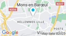 Plan Carte Saöna Spa à Lille