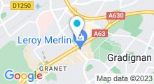 Plan Carte Swimcenter à Pessac