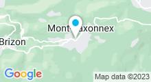 Plan Carte Centre de remise en forme Mont-Sport et Forme à Mont-Saxonnex