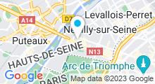 Plan Carte Centre Waterbile Pont de Neuilly