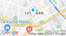 Plan Carte Beauté Zen Paris