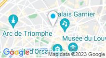 Plan Carte Royal Thai Spa à Paris (8ème)